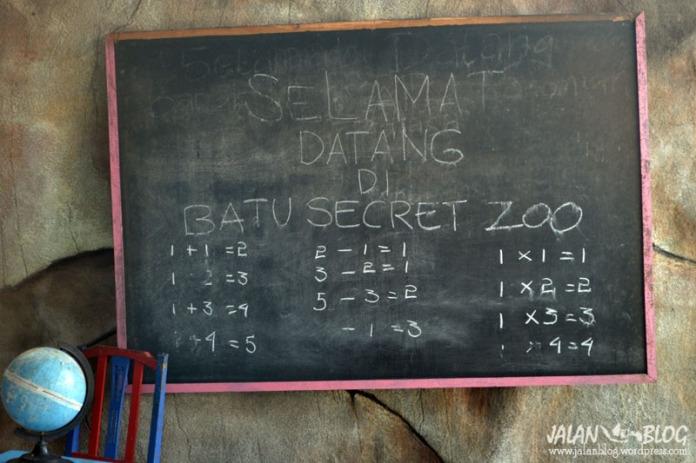 Selamat datang di Batu Secret Zoo